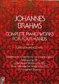 Ok�adka: Brahms Johannes, Complete Piano Works For Four Hands