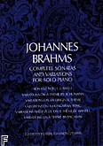 Ok�adka: Brahms Johannes, Complete Sonatas And Variations For Solo Piano