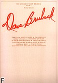 Ok�adka: Brubeck Dave, The Genius Of Dave Brubeck, Book 1 - Piano Solos