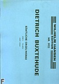 Ok�adka: Buxtehude Dietrich, Organ Works Volume 2 : Preludes And Fugues, Toccatas