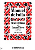 Ok�adka: Falla Manuel de, Dance Of Terror And Ritual Fire Dance From El Amor Brujo