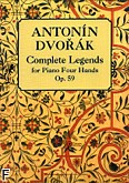 Ok�adka: Dvo��k Antonin, Complete Legends For Piano Four Hands Op.59