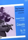 Ok�adka: Dvo��k Antonin, Concerto In A Minor For Violin And Piano Op.53 (1st Position)