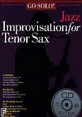 Ok�adka: , Go Solo! Jazz Improvisation For Tenor Sax BK/CD