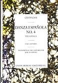 Okładka: Granados Enrique, Danza Espanola No.4 Villanesca (azpiazu)