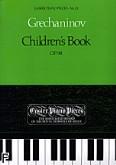Okładka: Greczaninow Aleksander, Children's Book Op.98