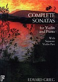 Ok�adka: Grieg Edward, Complete Sonatas for Violin and Piano