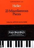 Okładka: Heller Stefan, 23 Miscellaneous Pieces
