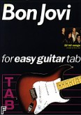 Ok�adka: Bon Jovi, Bon Jovi For Easy Guitar Tab