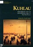 Okładka: Kuhlau Friedrich Daniel Rudolf, Sonatinas Op.20 i Op.55