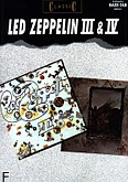 Ok�adka: Led Zeppelin, Led Zeppelin 3 & 4 for Bass and Vocal