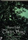 Ok�adka: Liszt Franz, Thirty Songs