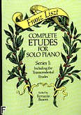 Ok�adka: Liszt Franz, Complete Etudes For Solo Piano Series I
