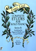 Ok�adka: Liszt Franz, Complete Etudes For Solo Piano, Series II