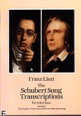 Okładka: Schubert Franz, Schubert Song Transcriptions For Solo Piano Series II (Liszt F.)