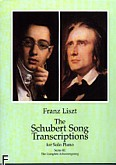Ok�adka: Schubert Franz, The Schubert Song Transcription s For Solo Piano III (Liszt F.)