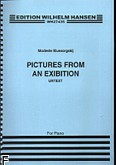 Ok�adka: Musorgski Modest, Pictures At An Exhibition