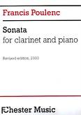 Ok�adka: Poulenc Francis, Sonata For Clarinet And Piano (Revised Edition 2000, Edited by Millan Sachania)