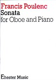 Ok�adka: Poulenc Francis, Sonata for oboe and piano