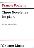 Okładka: Poulenc Francis, Three Novelettes For Piano