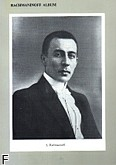 Ok�adka: Rachmaninow Sergiusz, Album