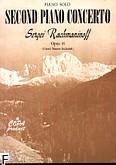 Okładka: Rachmaninow Sergiusz, II koncert fortepianowy c-moll op.18
