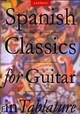 Okładka: Albéniz Isaac, Spanish Classics For Guitar In Tablature