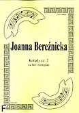 Okładka: Bereźnicka Joanna, Kolędy cz. 2 na flet i fortepian