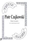 Ok�adka: Czajkowski Piotr, Walc kwiat�w na kwartet smyczkowy (partytura+g�osy)