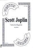 Ok�adka: Joplin Scott, School of Ragtime na gitar�