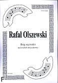Okładka: Olszewski Rafał, Bóg się rodzi na kwartet smyczkowy (partytura + głosy)