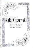 Okładka: Olszewski Rafał, Dzisiaj w Betlejem (partytura + głosy)
