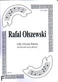 Ok�adka: Olszewski Rafa�, Gdy �liczna panna na kwartet smyczkowy (partytura + g�osy)