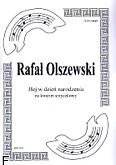 Okładka: Olszewski Rafał, Hej w dzień narodzenia na kwartet smyczkowy (partytura + głosy)