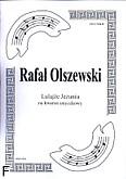 Okładka: Olszewski Rafał, Lulajże Jezuniu na kwartet smyczkowy (partytura + głosy)