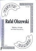 Okładka: Olszewski Rafał, Mędrcy świata na kwartet smyczkowy (partytura + głosy)