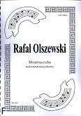 Okładka: Olszewski Rafał, Mizerna cicha na kwartet smyczkowy (partytura + głosy)