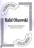 Okładka: Olszewski Rafał, Przybieżeli do Betlejem na kwartet smyczkowy (partytura + głosy)