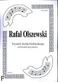 Okładka: Olszewski Rafał, Tryumfy Króla Niebieskiego na kwartet smyczkowy (partytura + głosy)