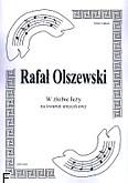 Okładka: Olszewski Rafał, W żłobie leży na kwartet smyczkowy (partytura + głosy)