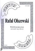 Okładka: Olszewski Rafał, Wśród nocnej ciszy na kwartet smyczkowy (partytura + głosy)
