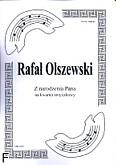 Okładka: Olszewski Rafał, Z narodzenia Pana na kwartet smyczkowy (partytura + głosy)