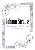 Okładka: Strauss Johann, Frühlingstimmen (partytura + głosy)