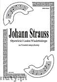 Okładka: Strauss Johann, Opowieści lasku wiedeńskiego na kwartet smyczkowy (partytura + głosy)