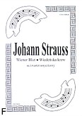 Ok�adka: Strauss Johann, Wiener Blut (Wiede�ska krew) (walc) na kwartet smyczkowy (partytura + g�osy)