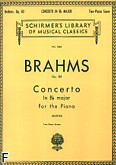 Okładka: Brahms Johannes, Koncert fortepianowy nr 2 B-dur, op. 83