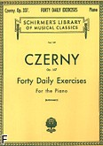 Ok�adka: Czerny Carl, 40 Daily Exercises, Op. 337