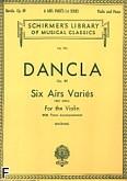 Ok�adka: Dancla Charles, 6 Airs Vari�s, Op. 89 (Piano / Violin)