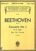 Okładka: Beethoven Ludwig van, Koncert fortepianowy nr 1 C-dur, op. 15