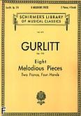 Okładka: Gurlitt Cornelius, 8 Melodious Pieces, Op. 174